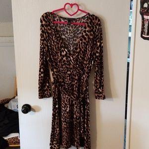 NWOT I.N.C. leopard print dress